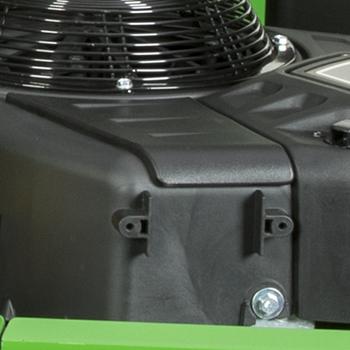 Panneau d'inspection/de nettoyage de l'ailette du moteur