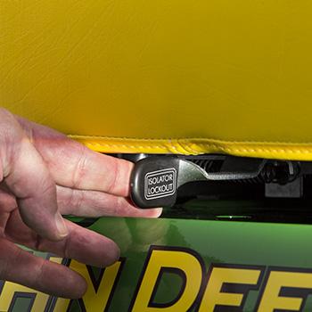 Siège à suspension mécanique