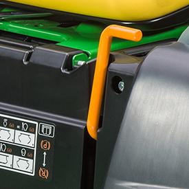 Frein de stationnement (modèle Z535E illustré)