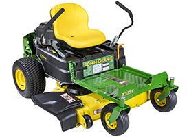 Tracteur ZTrak™ Z335E avec tondeuse AccelDeep42A