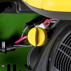 Tube de vérification/remplissage de l'huile moteur