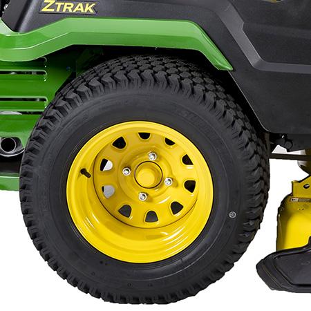 Roues arrière stylisées des modèlesZ530R et Z545R