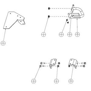 Kit de poignées montoirs (BXX10278)