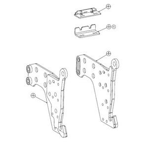 Colis de fixation de bâti secondaire (BXX10279)