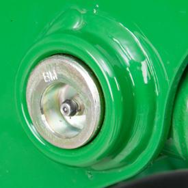 Gros plan sur l'embout de lubrification