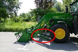 Ouvrir les béquilles de stationnement (3)