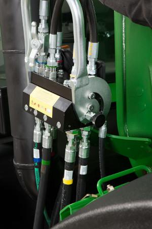 Raccord hydraulique en un seul point