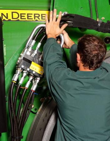 Installation hydraulique en un seul point