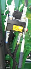 Raccord hydraulique en un seul point sur un tracteur de la série5M