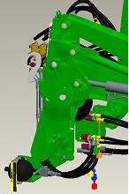 Système de suspension de chargeur sur H180