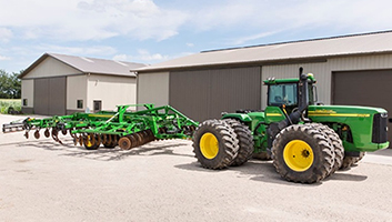 TruSet sur les tracteurs de série20