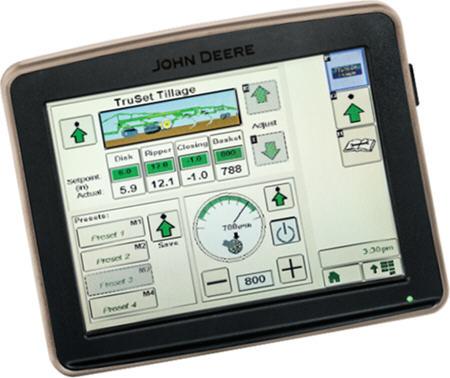 TruSet sur un afficheur GreenStar™32630