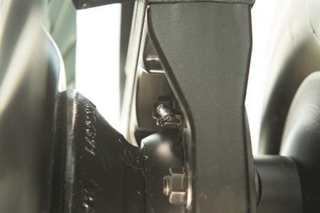 Les roulements diminuent la contrainte sur les surfaces internes et minimisent les temps d'arrêt