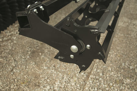Châssis en fonte et roulements sans entretien sur paniers rouleaux