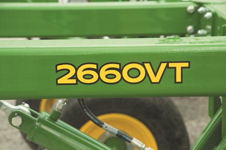 Le 2660VT améliore la productivité de l'opérateur