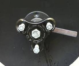 Système de serrage de train de disques