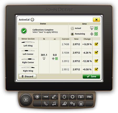 ActiveCal lancé sur un N500C