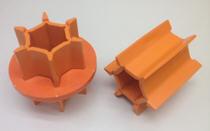 Rouleau orange à utiliser uniquement avec de grosses semences et SectionCommand