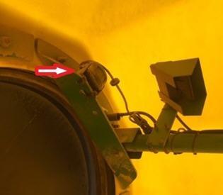 Emplacements des caméras sur la remorque pneumatique1910