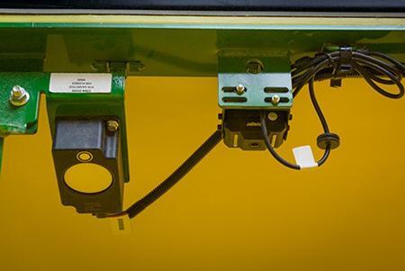 Emplacements des caméras sur la remorque pneumatiqueSérie C