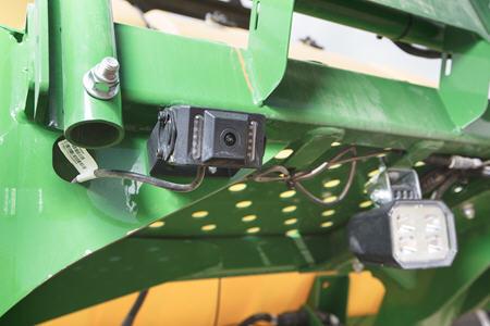 Caméra orientée vers l'arrière sur le semoir pneumatiqueN500C