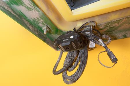 Caméra dans le réservoir sur le semoir pneumatiqueN500C