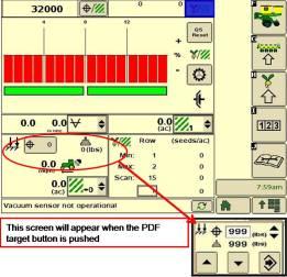 Contrôle de la force au sol pneumatique sur l'afficheurGS2