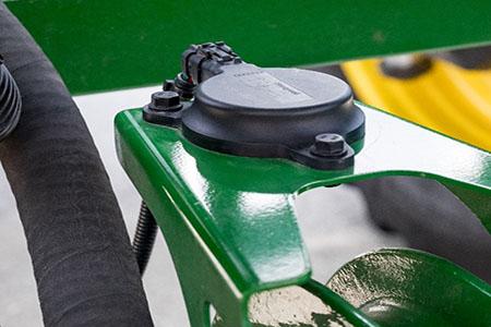 Capteur d'unité de mesure de l'inertie (IMU) à l'arrière de la machine