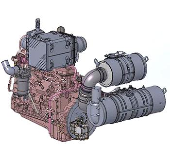 Moteur diesel de catégorie finale4 (FT4)