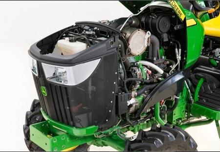 Accès facile au compartiment moteur