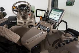 Cabine et commandes du tracteur6R
