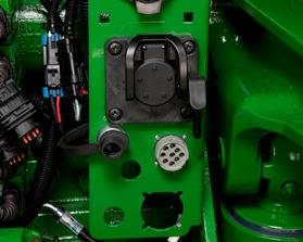 Connecteur électrique à neuf broches