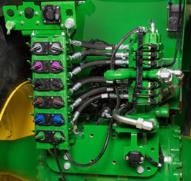 Circuit hydraulique arrière du tracteur9RT