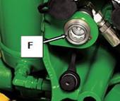 Coupleurs hydrauliques auxiliaires (8R illustré)