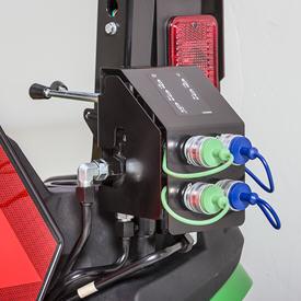 Kit de commande à distance hydraulique arrière