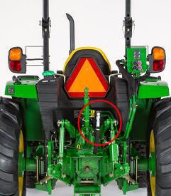 Trousse de surcroît de puissance hydraulique (tracteur4R illustré)