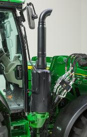 Emplacement de la RCS sur le tracteur5R