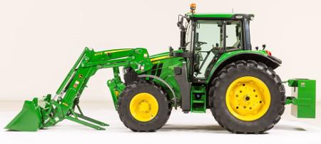 Tracteur6120M avec chargeur600R