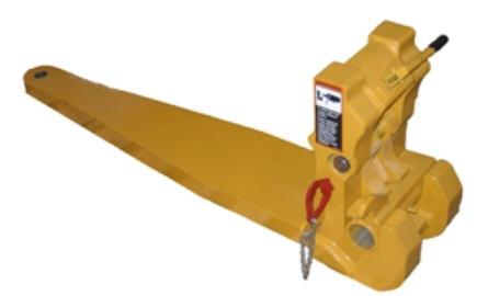 BXT10026 Barre d'attelage à raccordement rapide pour décapeuse