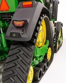 Ailes sur tracteur à chenilles