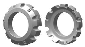 Masse de roueR207782 de 452lb (205kg) (illustration des faces intérieure et extérieure)