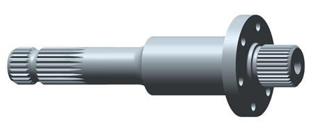 R537790 Arbre de prise de force arrière de 34,9mm (1,375po.), 1000tr/min