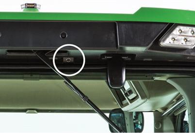 Caméra vidéo de toit arrière