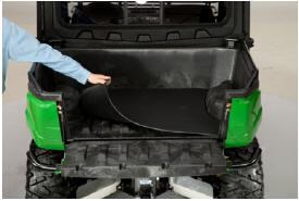 Illustré sur le véhicule utilitaire Gator™XUV550