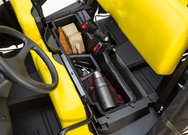 Rangement optionnel sous le siège pour le modèleS4