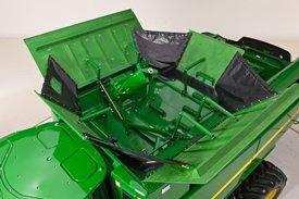 动力驱动的折叠装粮搅龙和延展部