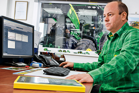 Maximale Zuverlässigkeit durch Kommunikation zwischen Maschine und Büro