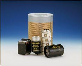 Zweifach-Luftfilter und Sicherungen