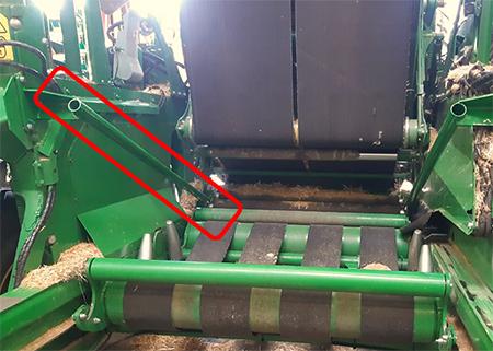 Teilesatz für Ballentransport in Hanglagen