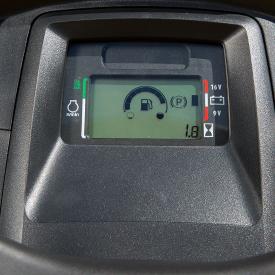 Elektronische Kraftstoffanzeige